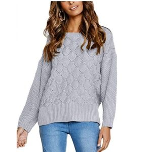 GENDYLON Knit Pullover Sweater